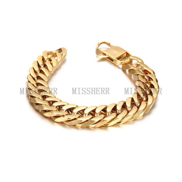 Fashion Jewelry Gold Bracelet Designs Men - Buy Gold Bracelet ...