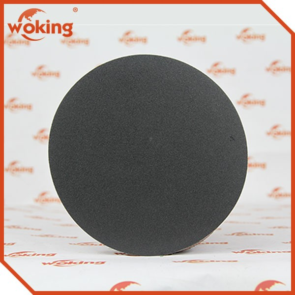 150mm with 6 holes silicon carbide sanding discs for marble, stone