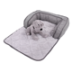 2018 Hot products plush washable luxury dog beds mat accessories waterproof puppy training pad pet bed with pp cotton filling