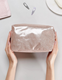 Glitter cosmetic wash bag makeup pouch