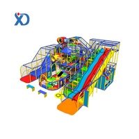 Amusement Commercial park games Manufactory Coloful Playground Equipments Children Indoor Soft Play Area