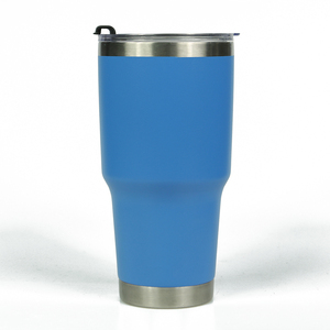 Double Wall Stainless Steel Tumbler 304 Metal Cup Stainless Steel Tumbler Travel Mug With Lid