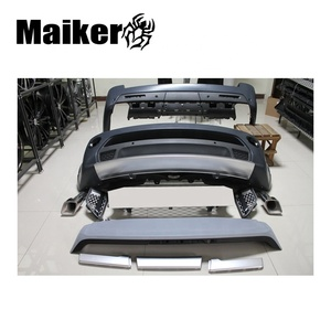 body kit for Land rover range rover sport body kits car bumper grill side vent muffler auto body parts from Maiker