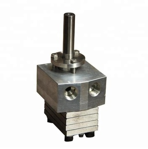 stainless steel high viscosity glue micro size hot melt hydraulic diaphragm fuel spinning metering dosing pump