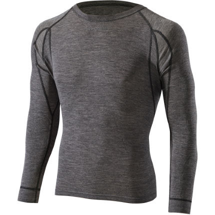 Men's performance merino blend long sleeve base layer underwear