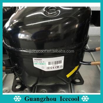 1/3hp Freezer Compressor 220v/50hz Lbp R134a Refrigerator Compressor Adw91  - Buy Refrigerator Compressor Adw91,1/3hp Freezer Compressor,Refrigerator