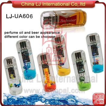 Aqua Usb Stick,Perfume Usb Flash Memory,Custom Gift Liquid Usb ...