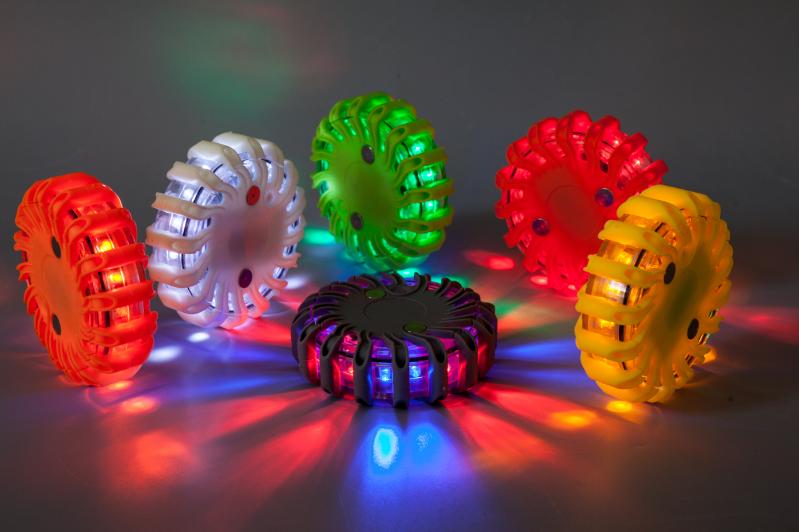 16 LED 비상 자동차 휴대용 황색 자동 비상 빛을 주도