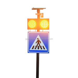 Flashing Warning Light Road safety led flasher traffic signal With Infrared Sensor