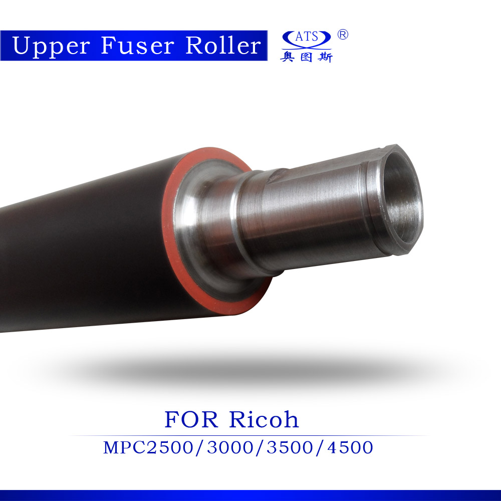 For use in Ricoh MPC4500 upper fuser roller/heat roller color machine