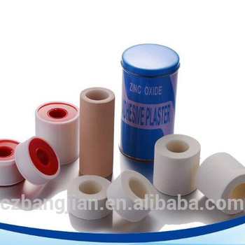 High quality disposable medical zinc oxide adhesive plaster with ISO certificate