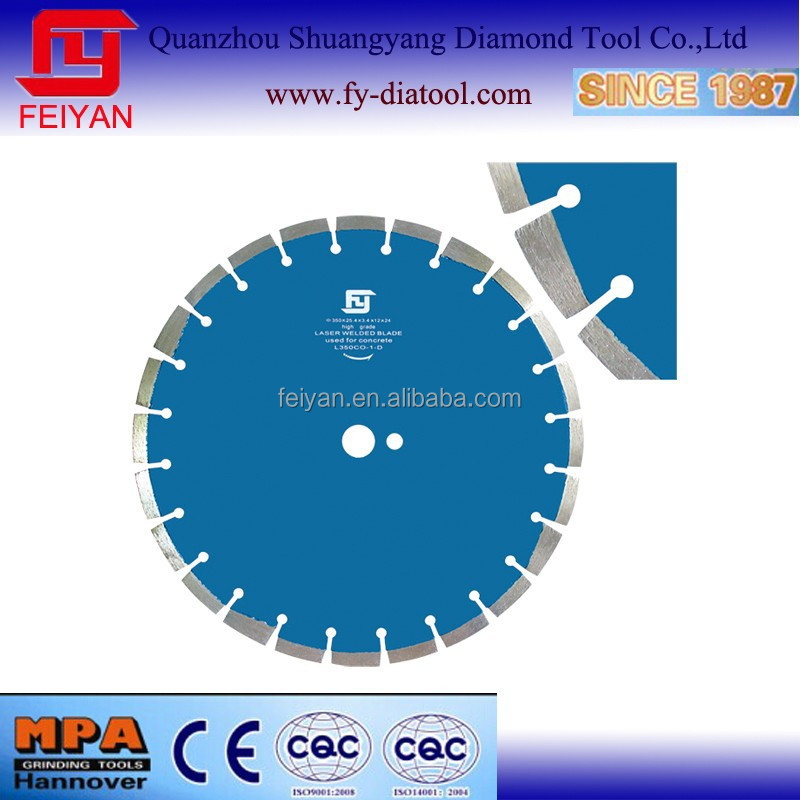 Diamond Laser Saw Blade For Concrete