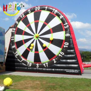 Inflatable soccer dart adult inflatable obstacle course