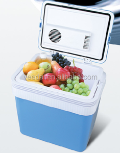 24L hot sell mini fridge/small refrigerator/ cooler box for camping