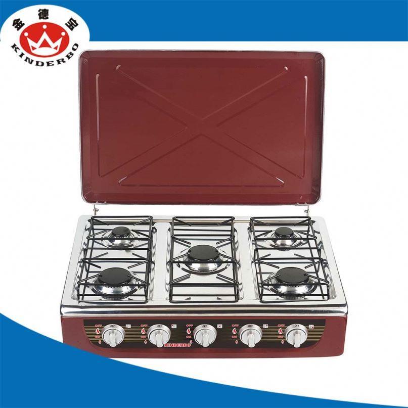 5 quemador de la estufa de le a sin humo profesional for Estufa profesional