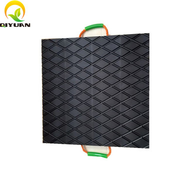 Durable Recycled Uhmwpe Plastic Crane Outrigger Pads