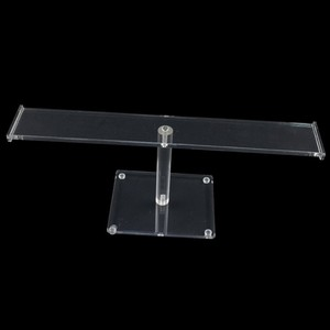 T-Bar Detachable Acrylic Necklace Display Stand Holder Plexiglass Bracelet Display Rack Acrylic Jewelry Holder