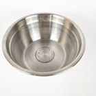 Popular wholesale water feeding pet bowl stainless steel dog food bowl