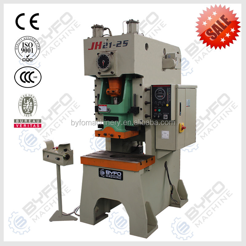 Good Price aluminum foil container making machine,BYFO pneumatic punching machine for sale