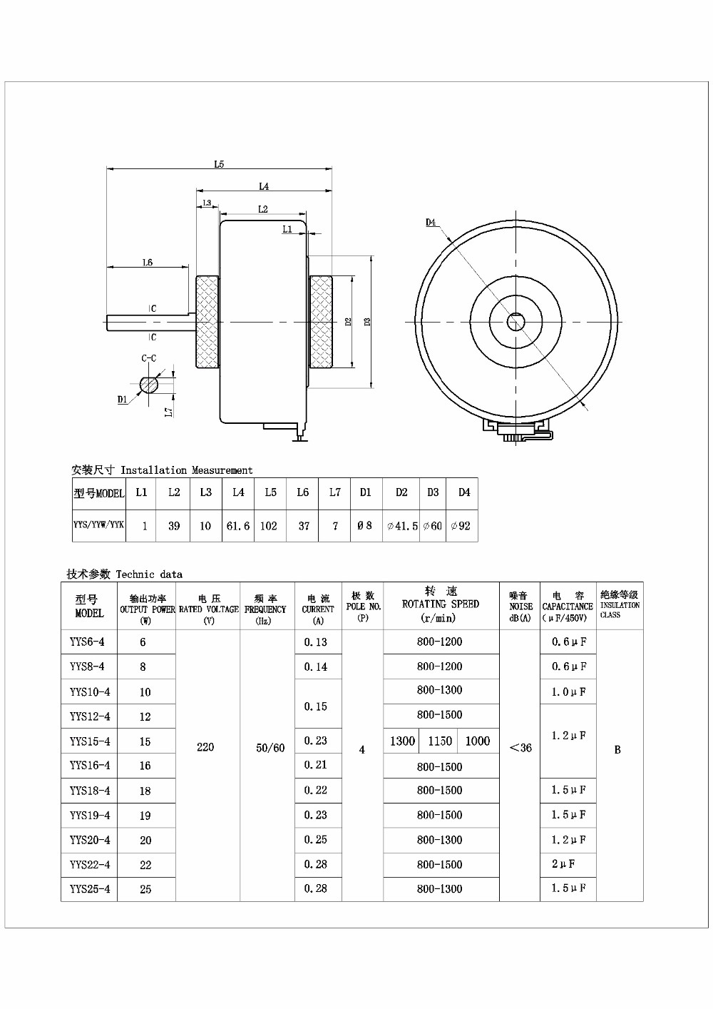 Yyk18 4 60hz ac fan motor for indoor air conditioner view air iron aluminium hull motorshaded pole motor for home appliance pooptronica Image collections