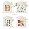 12oz 100% cotton high quality custom canvas tote bag