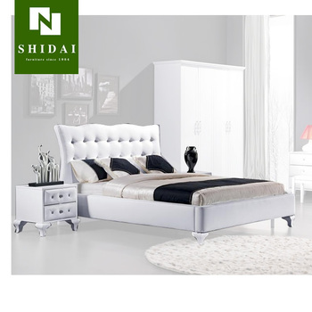 Modern Italian White Bedroom Furniture Art Deco Design B904