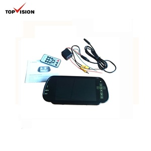 "7"" LCD Screen Car Rear View Backup Parking Mirror Monitor made in china"