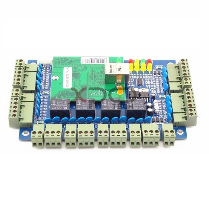 Four Doors TCP/IP Network Access Control Panel Board System