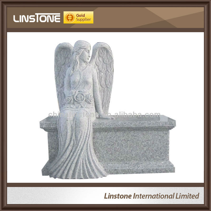 Bench and Monuments Shaped Angel Granite