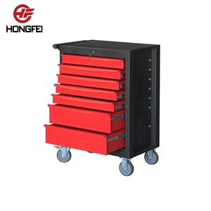 27 inch DIY 7 Drawer Metal Steel Tool Chest Roller Tool Cabinet