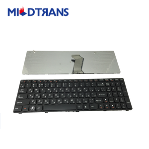 Popular &cheap Black replacement laptop Keyboard for Lenovo G580 RU/US/SP
