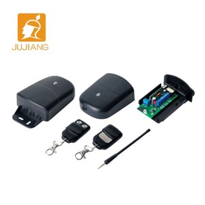 best seller 315mhz/433mhz Wireless Remote Control, garage door rf transmitter and receiver with CE ROHS JJ-JS-084-1/JJ-RC-I8