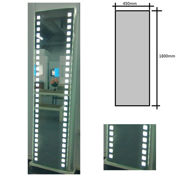Full Length Wall Mirror With Light Illuminated Mirrors Dressing Room Product On Alibaba