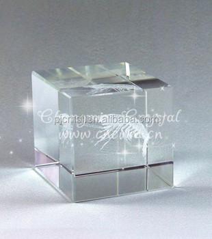 3d Glazen Kubus.3d Laser Gravure Kristal Glas Leeg Kubus En Blok Buy 3d Kristal Kubus Blanco Kristal Glazen Kubus Helder Kristal Blok Kubus Product On Alibaba Com