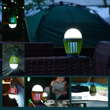 New Promotional Rainproof Rechargeable LED Mosquito Killer Lamp Bug Zappers