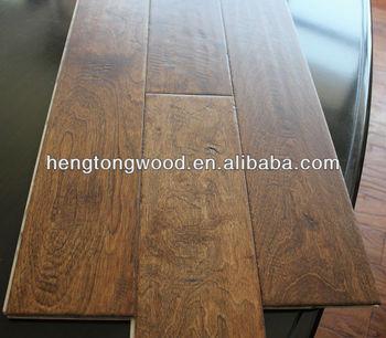 Add Hand shaved birch flooring this