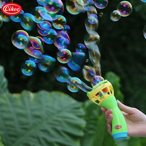 Cikoo Hot Selling Battery Operated Wedding Bubble Blower Gun Toys With Fan