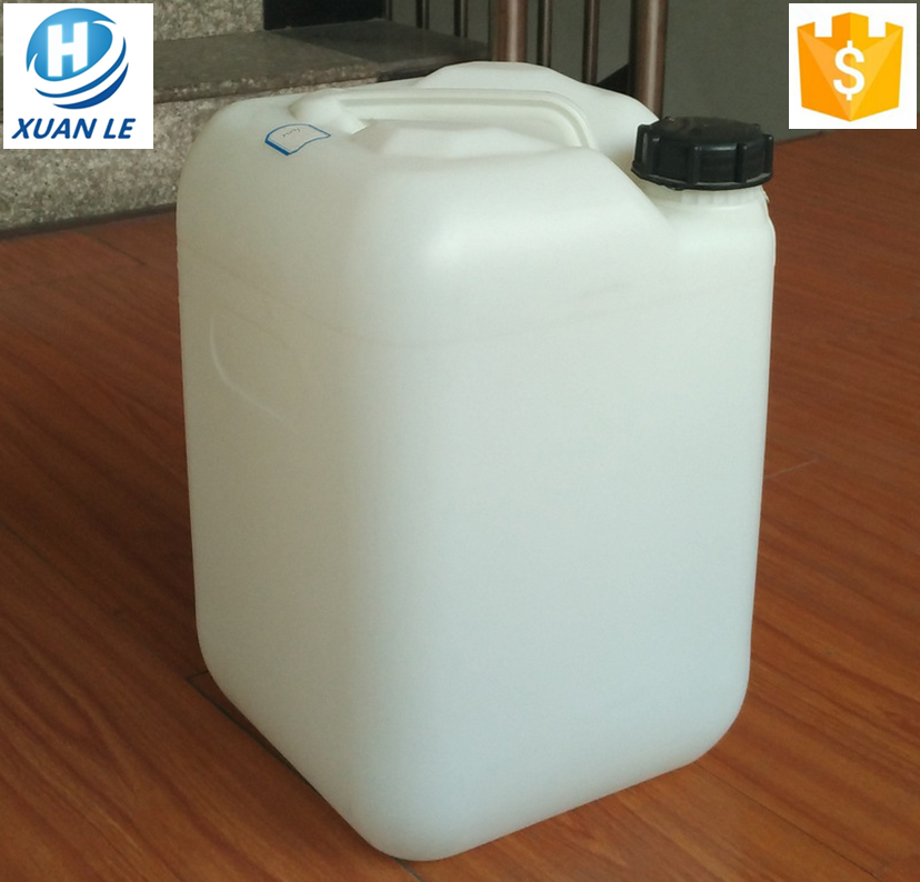 Free sample HDPE plastic food grade 20 liter jerry can with fast delivery