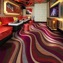 Printed Wall to Wall Red Club Carpet T-Y40 Series