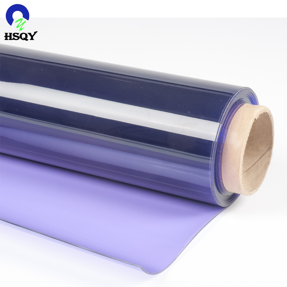 0,05-0,50 mm Super Clear Flexible PVC Transparenter Folienhersteller