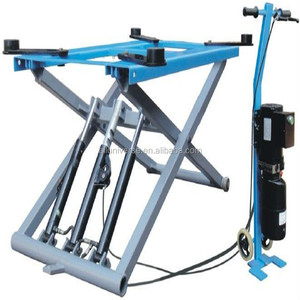 Scissor design hydraulic car lift, Scissor Design and CE Certification Small/mini /Portable scissor lift