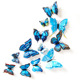 Wholesale butterfly 3d home decor wall sticker
