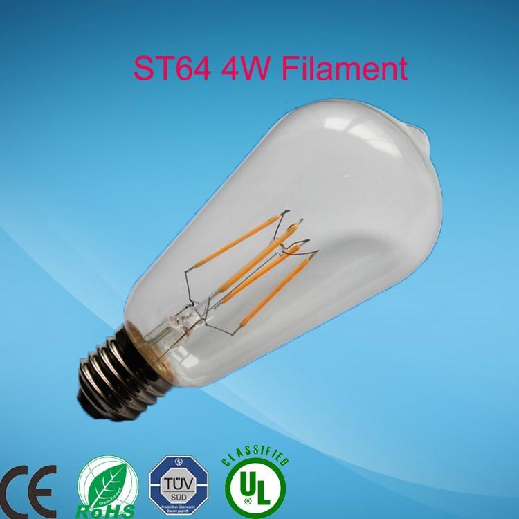 A19 E26 8w Led Filament Bulb 75 Watt Equivalent 2700k 800 Lumen ...