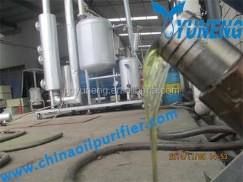 Waste or used engine oil to diesel fuel distillation for Waste motor oil to diesel