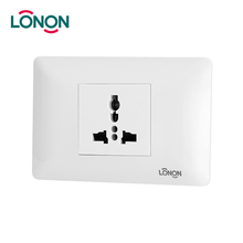 3-Pin Plug Socket Universal Socekt Electrical Switch
