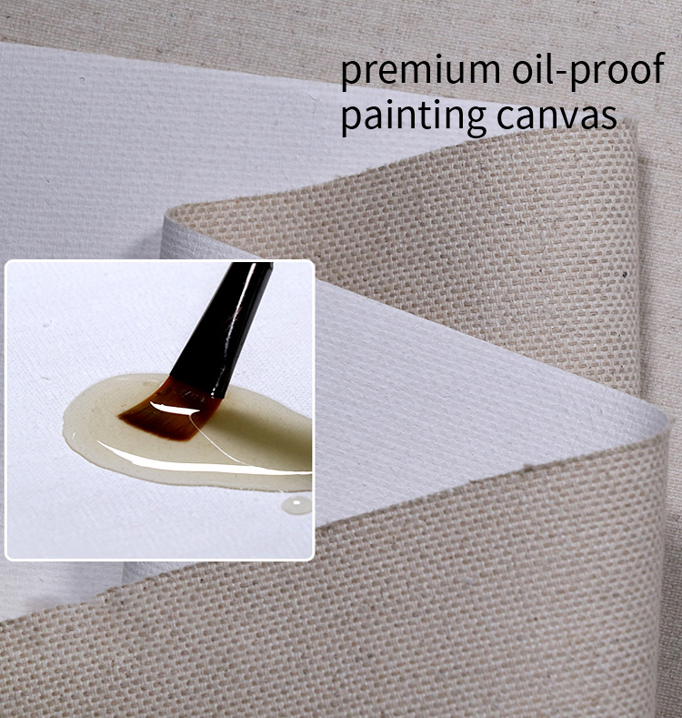 Gallery Wrapped 12x16 16x20 inch Wholesale Blank Cotton Art Stretched Blank Canvas