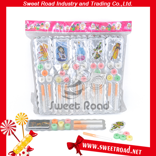 Cigarette Whistle Press Candy Toys
