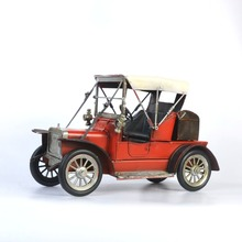 Wholesale Iron metal handicraft Vintage old classic old Car model tin Vehicle Collectable Gift