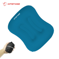 Ultralight Camping Portable Fast Air Inflatable Travel Neck Pillow