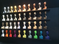 various poses good quality mannequin head
